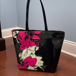 Harrod's structured tote spring floral print